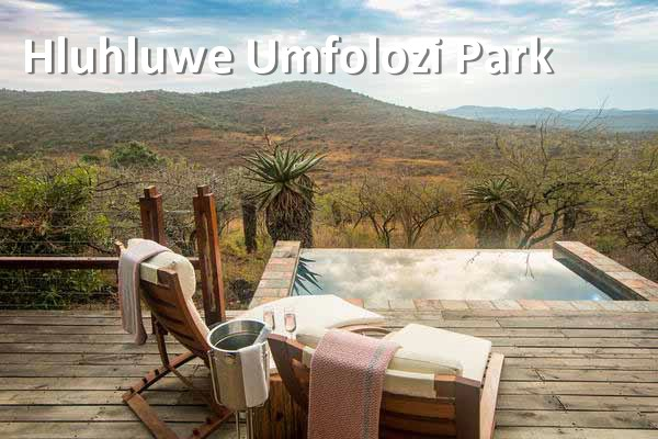 Hluhluwe Umfolozi Park - Rhino Ridge Honeymoon Deck
